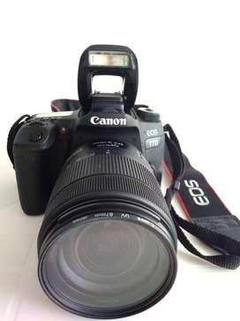 GANGA Cámara Canon 77D + Lente 18-135