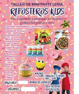 TALLER REPOSTEROS KIDS