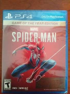 Juego de PS4 Spiderman Year Edition