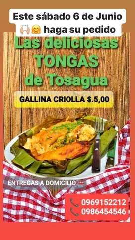 Tongas manabitas de Tosagua