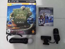 Vendo Cámara y mando PS Move para PS3 con obsequio