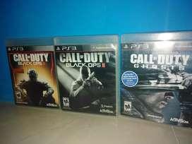 Juego play 3 Call of  Duty