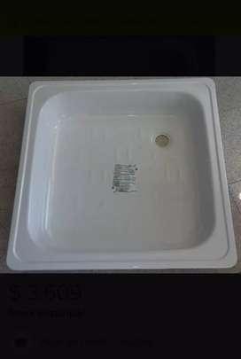 Receptáculo plato de ducha chapa enlazada 70 x 70cm