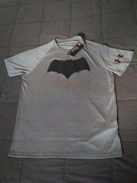 Camiseta Under Armour Batman Nueva