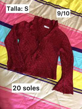 Blusa rojo