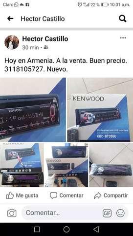 Radio kenwood Nuevo