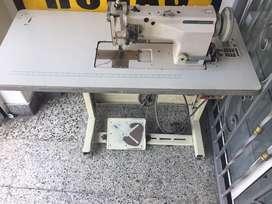 Maquina industrial plana