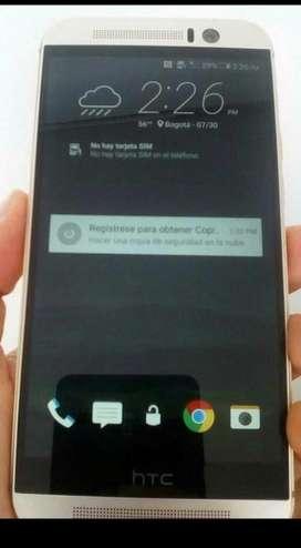 HTC one M9 cambio por consola
