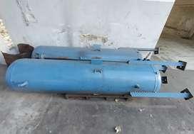 2 Tanque Pulmón Aire Comprimido 200 litros. Usados. Verticales.