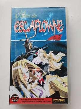 Vhs la visión de escaflowne vol 2 otaku vision