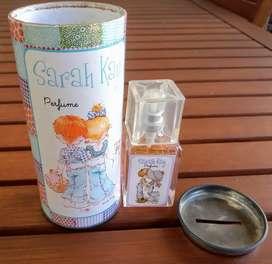 Perfume en lata alcancía