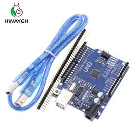 Arduino Uno R3 Mega328p Ch340g Compatible  Cable Usb Pines