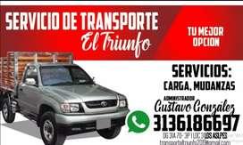 Servicio de transporte de mudanzas