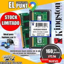 MEMORIA RAM DDR4 DE 8GB