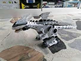 Dragón blanco y negro