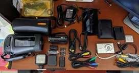Vendo video y cámara con accesorios