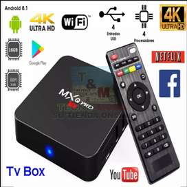 Promoción TvBox 4Ram 64GB