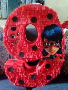 Piñata Ladybug Estilo Mexicano Desde