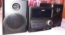 MINICOMPONENTE SANYO DCDA900BT. EN EXCELENTE ESTADO.