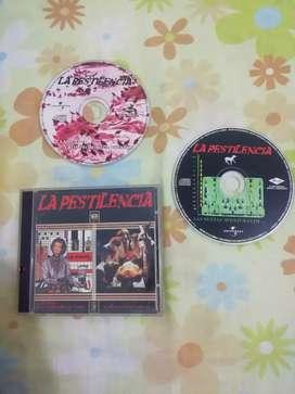 CDS ORIGINALES BANDA DE ROCK LA PESTILENCIA