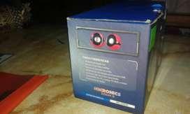Parlantes Micronics zoom 2 rojo