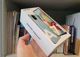 Samsung Galaxy A71 128 GB ! ( Nuevo )