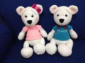 Muñecos tejidos - Amigurumis.