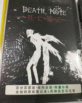 Libreta death note anime
