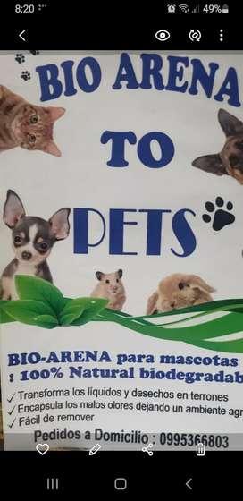 Para mascotas  Arena