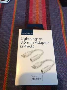 Adaptador para iPhone audífonos