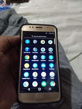 Vendo celular Motorola G5 S