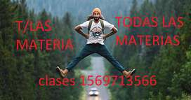 CLASES PARTICULARES ONCE 6 971 3566 T/LAS MATERIAS