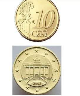 Moneda 10 euro cent