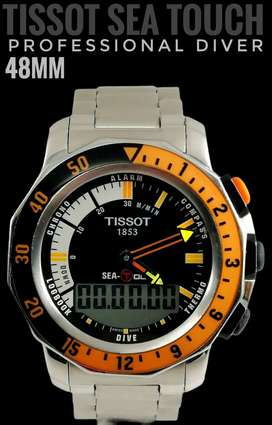 TISSOT SEA TOUCH PROFESSIONAL DIVER 44mm