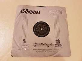 DISCO DE VINILO 78 RPM JUAN DARIENZO Y SU ORQUESTA TÍPICA