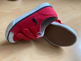 Zapatos Rojos Para Niño