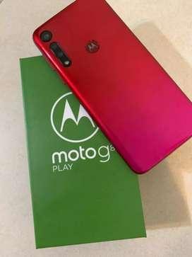 Hermoso Motorola Moto g 8 play como nuevo 1 mes de uso garantía 1 año por claro