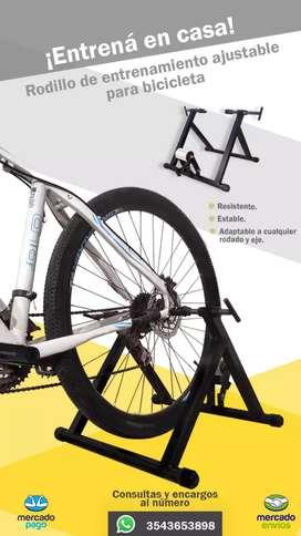 Rodillo de entrenamiento para biciclet