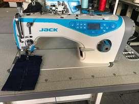 Maquina de coser plana