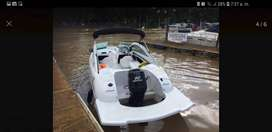 vendo lancha avalon x 3 con motor mercury 90 hp