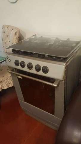 Cocina con encendido electrico