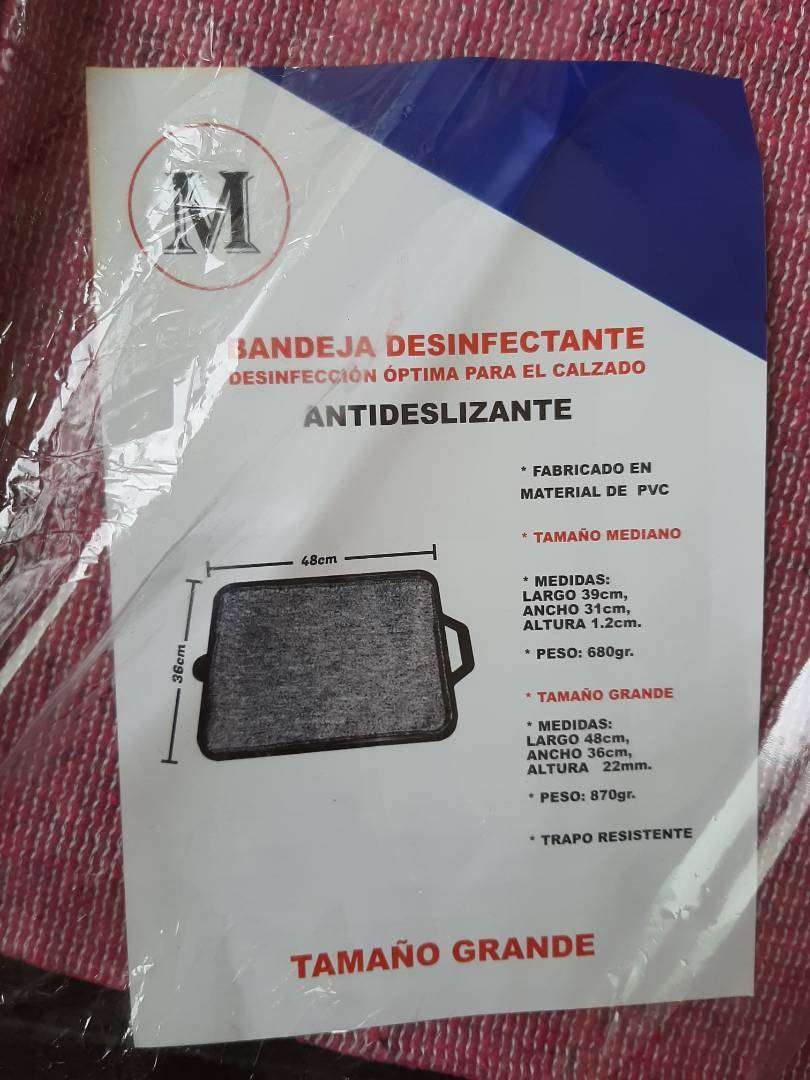 Bandeja desinfectante  Antideslizante Calzado 0