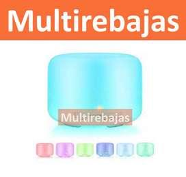 Humidificador Difusor Aromas Blanco 500ml Incluye Esencia
