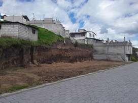 Terreno Con Amplio Frente Al Sur De Quito