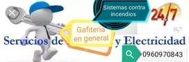Trabajos D Gafiteria Y Electricidad