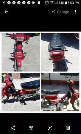 Moto Gerrero, 110 cc