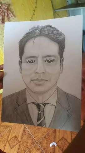 Dibujo a pedido y retratos a la venta los dibujos de cada foto