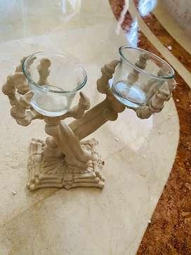venta final: candelabro huesos Halloween