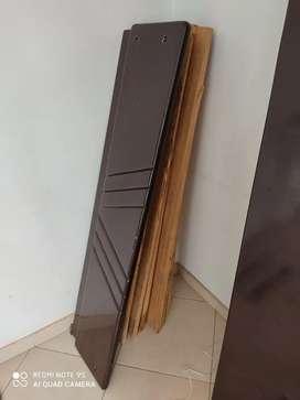 Cama doble en madera cedro