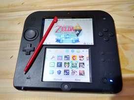 Nintendo 2ds con lápiz